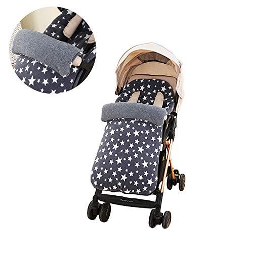 KiGoing Babyfußsack Fußsack Babyschale,Baby Schlafsack, Kinderwagen Winddichter Winterfußsack Universeller Schlafsack für Kinderwagen