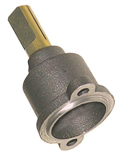 PEL Gashahnvorderteil für Gasherd Electrolux für PEL22S/O Achse ø 10x8x25/17mm Achsabflachung oben/unten Länge 25mm L2 17mm