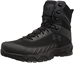 Under Armour mens Valsetz Military and Tactical Boot, Black (001 Black, 10.5 US