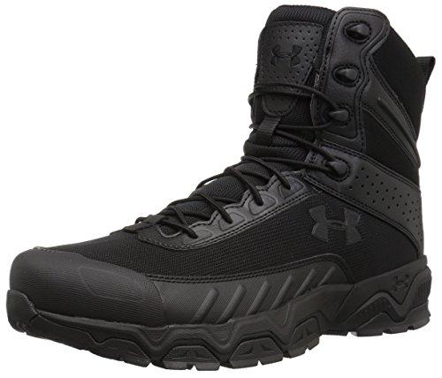 Under Armour Men's Valsetz Military & Tactical Boot Military and Tactical, Black (001)/Black, 11.5