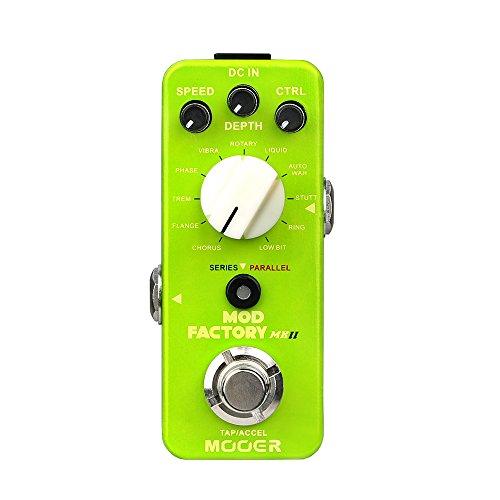 Pedale multieffetto modulazione per chitarra elettrica