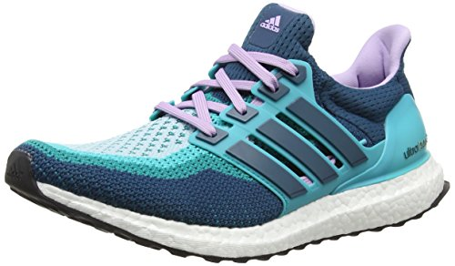 adidas Ultra Boost Damen Laufschuhe, Green (Clear Green S12/Mineral S16/Purple Glow S16), 38