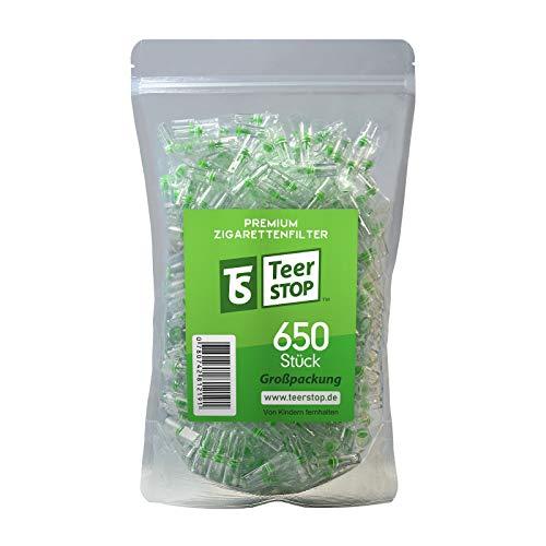 Teer Stop Zigarettenfilter (650 Stück)