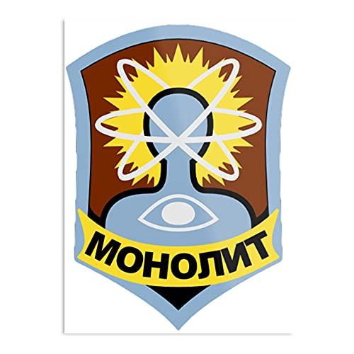 Monolith Faction Logo – Stalker (S.T.A.L.K.E.R.) – das Poster zur Dekoration des Innenbereichs – die beeindruckendste und eleganteste verfügbare Größe