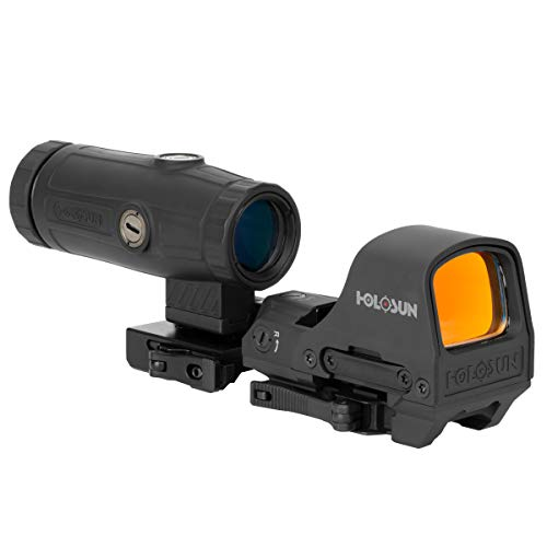 HOLOSUN HS510c Reflex Red Dot Sight + HM3X 3X Magnifier Combo Set