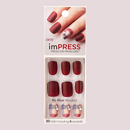 Impress Press-On Manicure by Broadway Nails Boogie Down Review