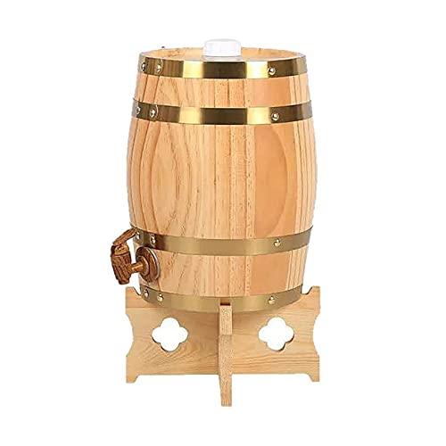 DJDLLZY Barril de vino, elaboración del vino barricas de roble barril Resina de Pino grifo del papel de aluminio del trazador de líneas, for su propio whisky, cerveza, vino, Bourbon, ron, tequila y Má