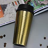 TIANYA Tasse Kreative 304 Edelstahl Press Cover Kaffee Vakuum-Isolierbecher Mode Milch Tee Flasche -