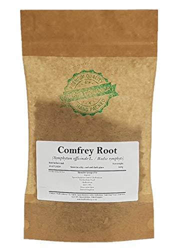Beinwellwurzel / Symphytum Officinale L / Comfrey Root # Herba Organica # Gemeiner Beinwell, Wallwurz, Komfrei (100g)