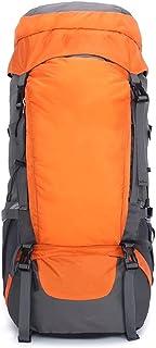 Dengyujiaasj Backpack, Unisex Travel Backpack, Raincoat Wear-resistant Breathable Outside Bag, Hiking Camping Large-capaci...