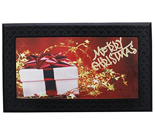 Russo Tessuti Tappeto Zerbino Fuori Porta Musicale Luci LED Magico Natalizio Natale Christmas-Variante 4