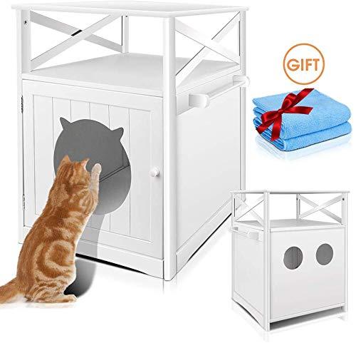 Masthome Katzenschrank Katzentoilette Katzenhöhle Katzenhaus Liegekissen Versteck Schlafen Sichtschutz