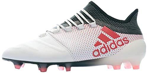 adidas X 17.1 FG, Zapatillas de Fútbol para Hombre, Blanco (Ftwwht/Reacor/Cblack Ftwwht/Reacor/Cblack), 48 EU