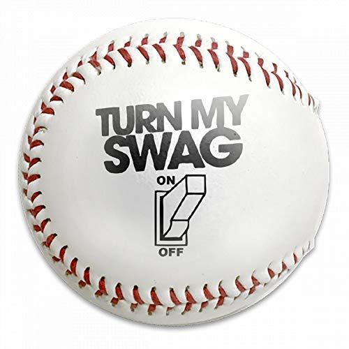 FFMMdogs Personalized Custom Turn My Swag On Baseball