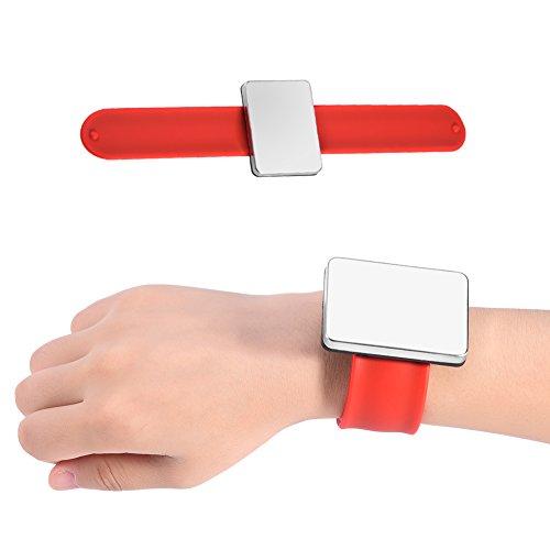Magnetisches Armband, Herren Magnetarmband, verstellbares Klettband Magnetarmband zum Halten von Werkzeug Schrauben Bohrer Nägel für Männer Vatertagsgeschenk