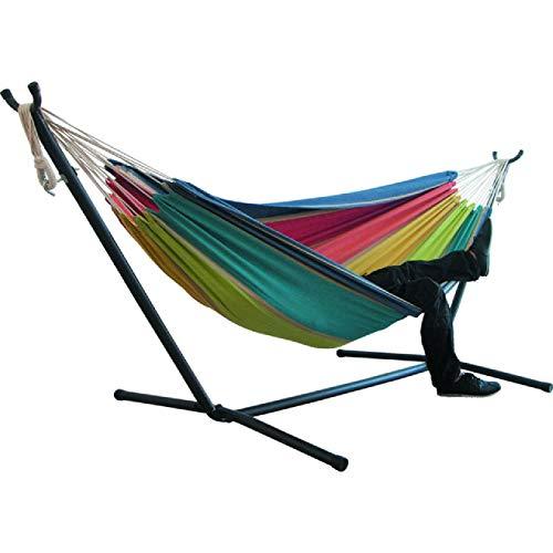 Hangmat voor twee personen Camping Thicken Schommelstoel Hangend bed voor buiten Canvas Schommelstoel niet met hangmatstandaard 200 * 150cm
