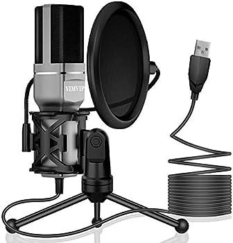 VIMVIP USB Computer Microphone
