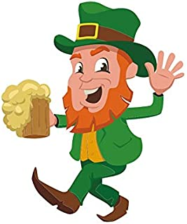 St. Patrick's Day Stickers Wall Poster Saint Patrick Window Door Clings Stickers Decoration for Saint Patrick's Day