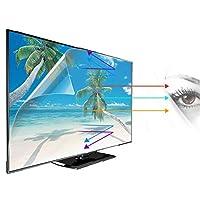 アンチブルーライトTVスクリーンプロテクター 32-75インチモニター用アンチグレアスクリーンプロテクターブロック有害なブルーライトアイプロテクションフィルターフィルム AWSAD (Color : Matte Version, Size : 37 inch 819*460mm)