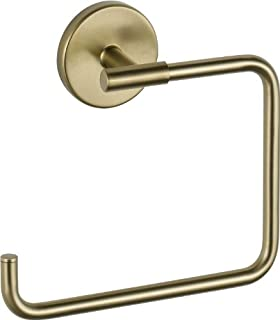 Delta Faucet Bathroom Accessories 759460-CZ Trinsic Hand Towel Ring, Champagne Bronze