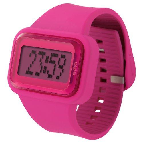 ODM Unisex-Armbanduhr Rainbow Box Set Digital Silikon pink DD125-3
