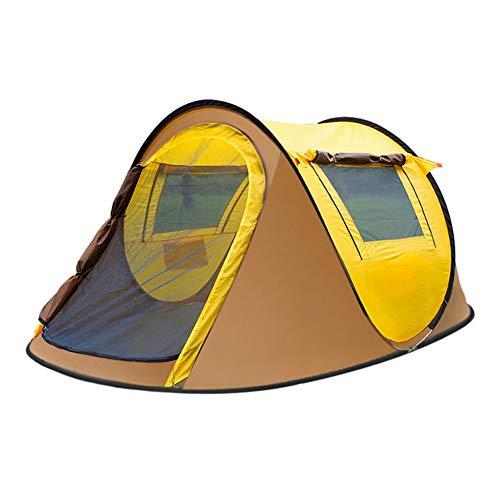 Pop-up pop-up outdoor uitwerptent voor kamperen, wandelen, grote familietent.