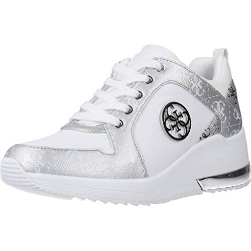 Guess Taschen Fashion-Solutions GmbH Damen Sneaker Runner Jaryd 4G Logo Weiss Gr. 38