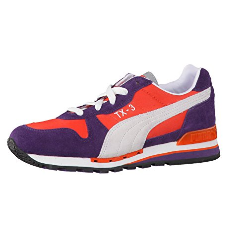 Puma TX-3 Sneaker Blackberry Cordial / Cherry Toma, Arancione (Arancione), 3 UK (35.5)