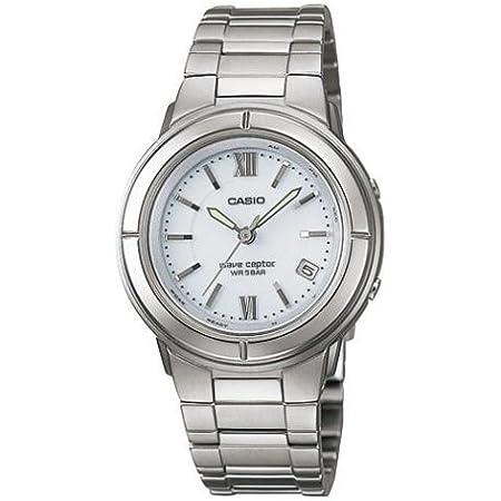[カシオ]CASIO 腕時計 WAVE CEPTOR ウェーブセプター タフソーラー 電波時計 LWQ-130TDJ-7A1JF レディース