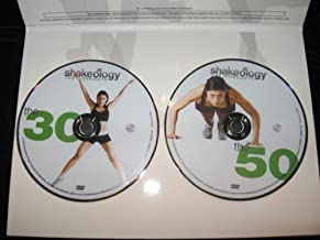 SHAKEOLOGY THE WORKOUTS THE 30 & SHAKELOGY THE WORKOUTS THE 50 (2 DVDS)