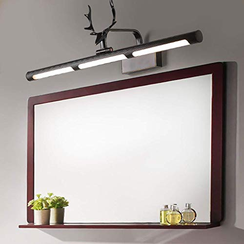 All-Copper Spiegel Koplamp Led Badkamer Spiegelkast Lampen Amerikaanse Antlers Wandlamp Scandinavische Dressoir Lampen, 64,5 * 19