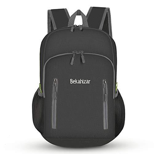Bekahizar 20L Ultra Lightweight Backpack Foldable Hiking Daypack Rucksack...