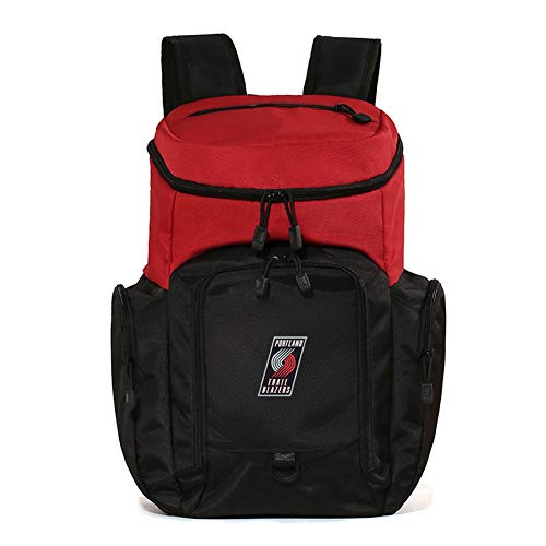 Haoshangzh55 Basketball Fans Backpack Portland Trail Blazers One Shoulder And Two Shoulders Outdoor Fitness Training Shoe Bag