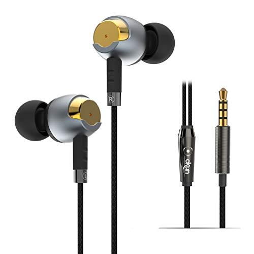 In-ear cuffie metallo isolamento acustico auricolare per MP345Gold fusion (TM)