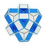 iLink Rompecabezas de cubo de serpiente mágica-48 Bloques Magic Snake Cube-Juguetes de serpiente -Favores de fiesta de cumpleaños para niños (Original)