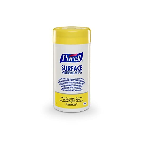 Purell Hand Sanitising Wipes For Surfaces 2x 100 In Slicker High Quality Diversion Safe Stash Box Purell Surface Sanitising Wipes