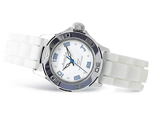 Vostok Amphibia Damen Mechanische Armbanduhr, Russische Militär Uhr #051458