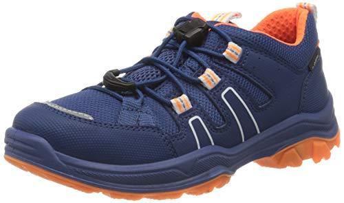 Superfit Jungen Jupiter Sneaker, Blau (Blau/Orange 80), 40 EU