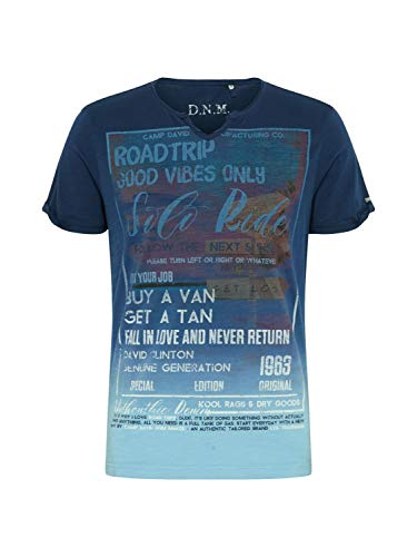 Camp David Herren Shirt braun XXL