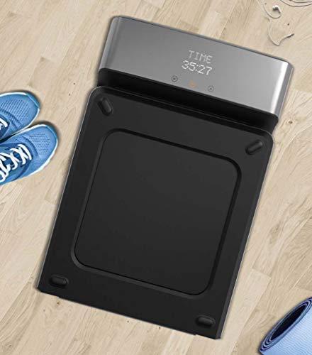 STRIDCJX WalkingPad, máquina para Caminar, máquina de Caminar, no Plana, Cinta de Andar en casa, Mute medidor, aplicación en el hogar