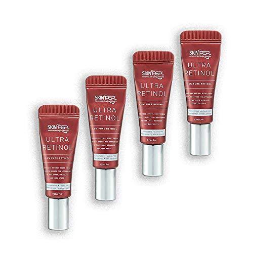 SkinPep Ultra Retinol 0.5% Serum 30ml - Helps To Reduce The Appearance Of Fine Lines + wrinkles + dark spots + 0.5% Pure Retinol - SkinPep Best Choice For Premium Quality Retinol by SkinPep