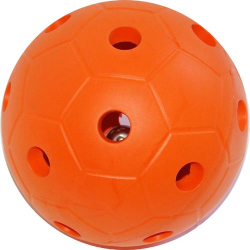 Balls R Us BRU0274 Balle avec Clochette Orange