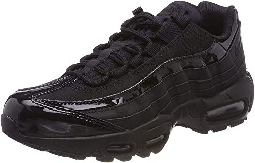 Nike Women's WMNS Air Max 95 Competition Running Shoes, Black Black Black Black 010, 7.5 UK