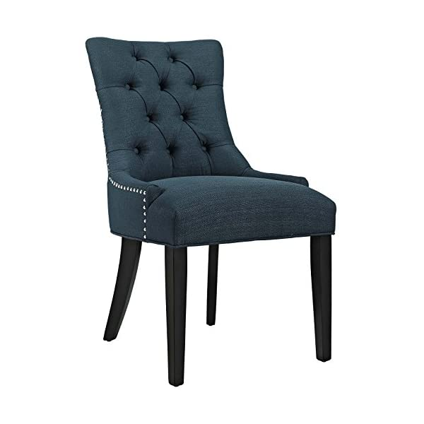 Modway Regent Modern Tufted Upholstered Fabric Kitchen and Dining Room Chair