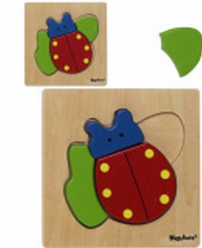 Playshoes 380611 - Holz Puzzle Käfer