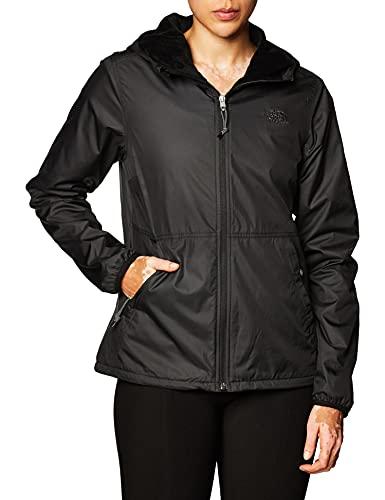 The North Face - Chaqueta para Mujer Lifestyle Shell - Chaqueta Ligera Impermeable y Resistente al Viento con Capucha - Black, XL