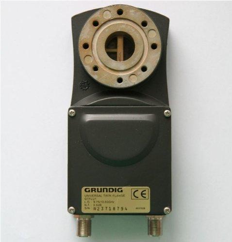 Gr&ig GT FLU 1 Twin-Universal LNB mit Flansch-Anschluss