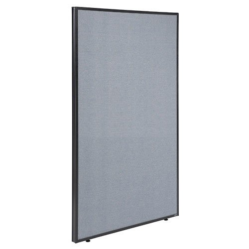 48-1/4W x 72H Office Partition Panel, Blue