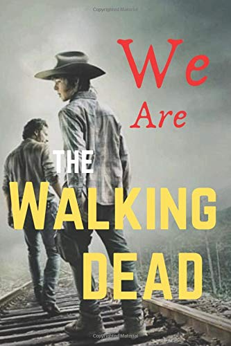 The walking dead - Rick & Carl grimes: Lined Journal for you , 100 pages, 6 ×9 inch, soft, cover matte, Gift