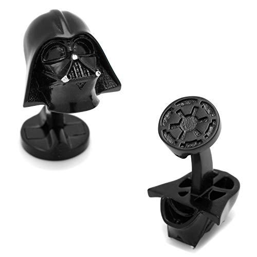 Star Wars 3D Darth Vader Cufflinks, Officially Licensed